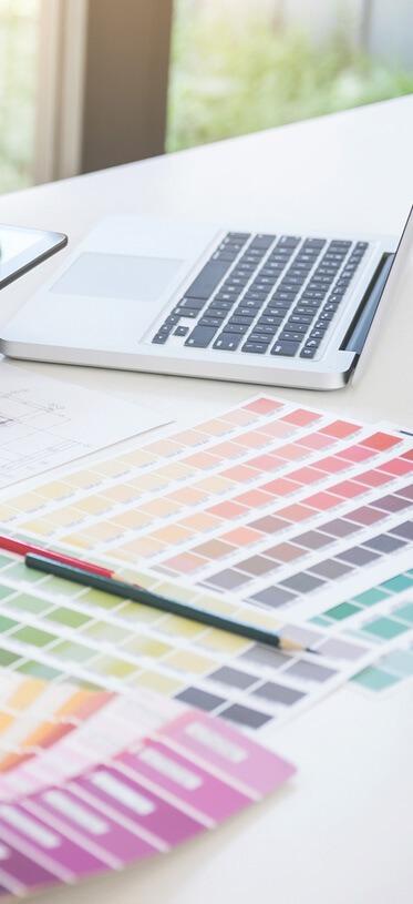 design výběr barvy STARTUJEME WEBY