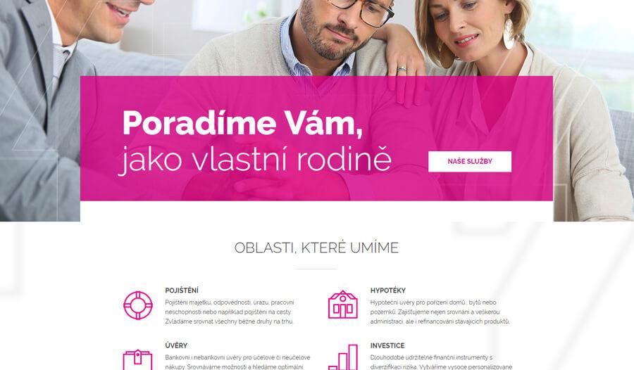 internetové stránky STARTUJEME WEBY