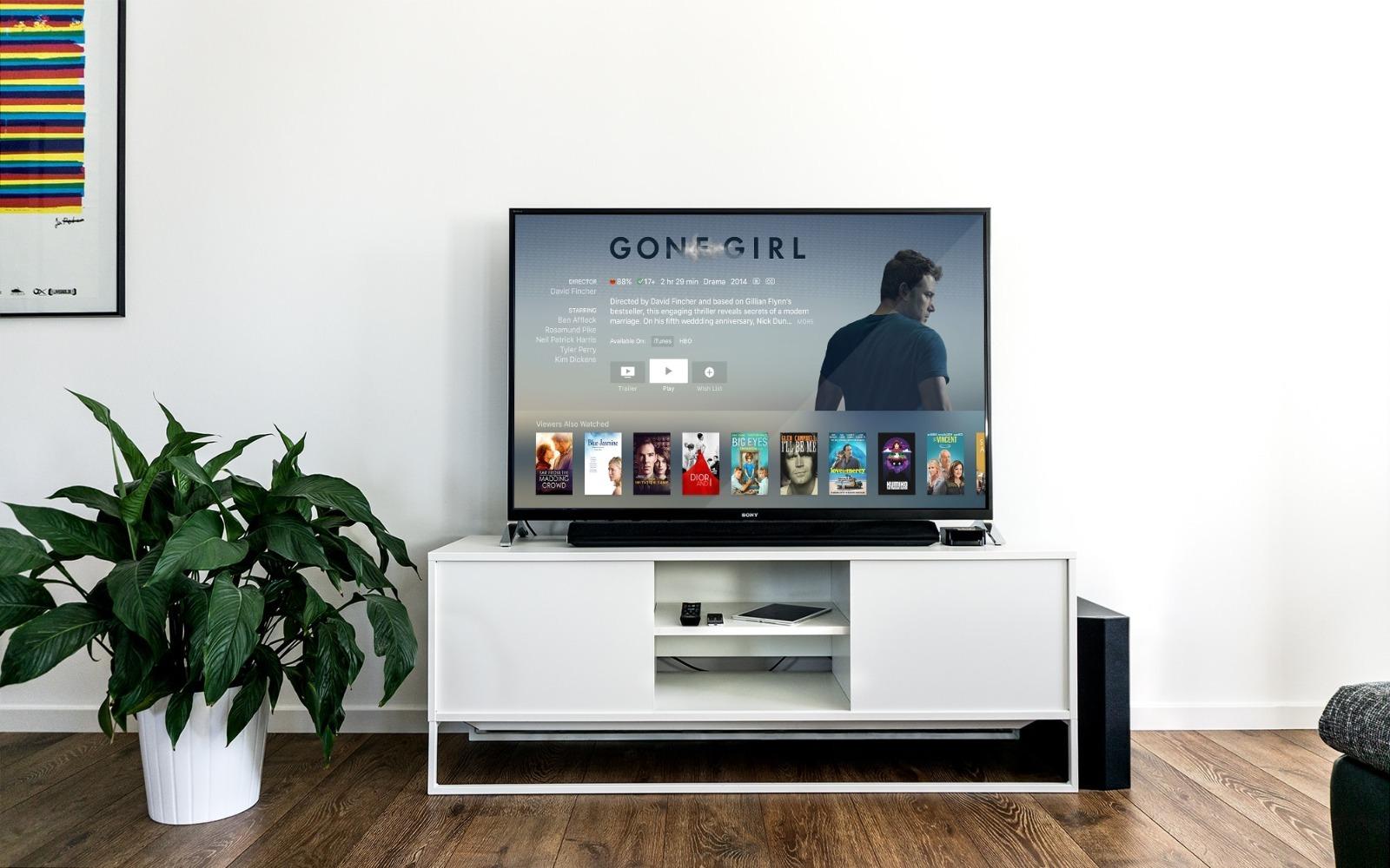 Sledování televize Apple TV plus