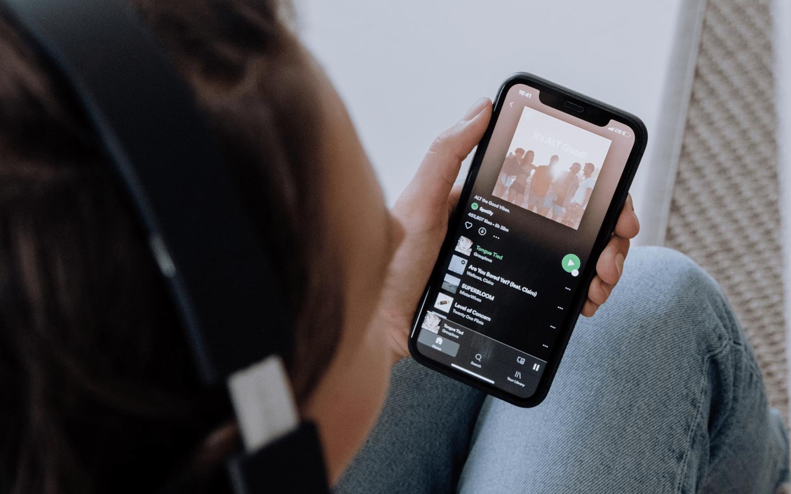 Spotify vylepšuje úsporný režim